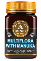 ARATAKI Creamed Multi-Flora with Manuka Honey Premium Range 500g (BN4811)