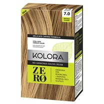 Kolora Zero 7.0 Natural Blonde no ammonia hair dye 60ml