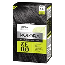 Kolora Zero 1.0 Infinity Black no ammonia hair dye 60ml